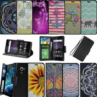For Alcatel REVVL (T-Mobile) | Alcatel A30 Fierce Wallet Card Stand Case