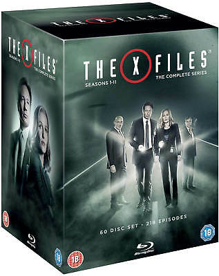 The X Files Complete Season Series 1-11 Blu-ray Collector's Boxset Region Free