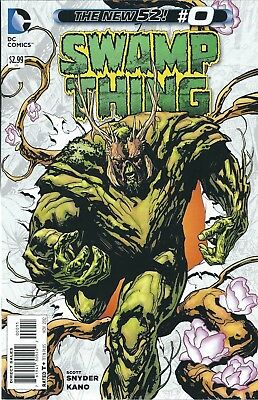 "Swamp Thing #0 (2012) Dc Comics ""the New 52""  V/f+"