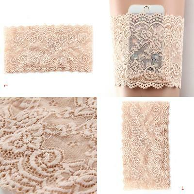 Elegant Non Slip Lace Elastic Sock Anti-Chafing Thigh Bands Nice Nude L Type