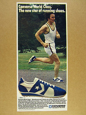 1978 Converse WORLD CLASS Marathoner Running Shoes photo vintage print Ad