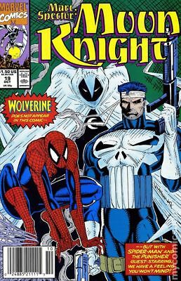 Marc Spector Moon Knight #19 1990 FN Stock Image