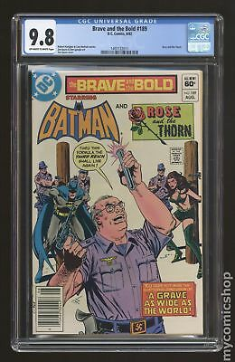 Brave and the Bold (1st Series DC) #189 1982 CGC 9.8 1497132011