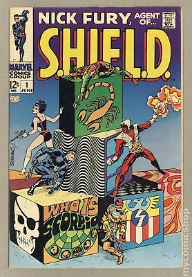 Nick Fury Agent of SHIELD (1st Series) #1 1968 VG/FN 5.0