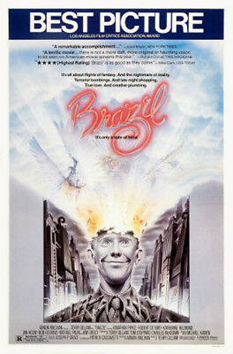 Brazil (1985) original movie poster single-sided rolled