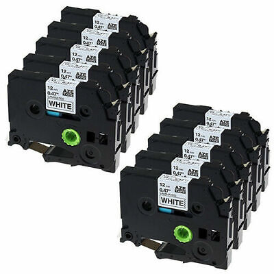 10x Compatible For Brother TZ-231 TZe-231 Label Tape P-Touch PT1280 1290 2030
