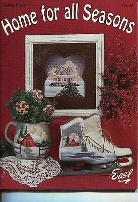 PAINTING BOOK - HOME FOR ALL SEASONS Vol. 10 by Debbie Toews