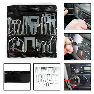 38X Universal Car Stereo Release Removal Keys Tool Cd Radio Head Unit Ford