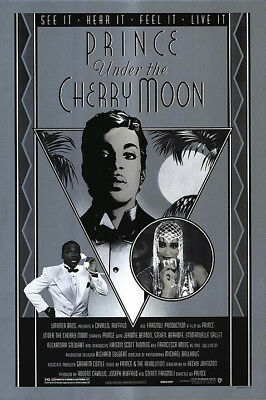 Under the Cherry Moon (1986) original movie poster single-sided rolled