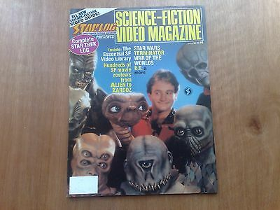 Starlog Science Fiction Video Mag 1987 Star Trek James Bond Superman Fine Cond.