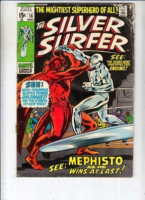 Silver Surfer # 16 strict GD appearance Mephisto