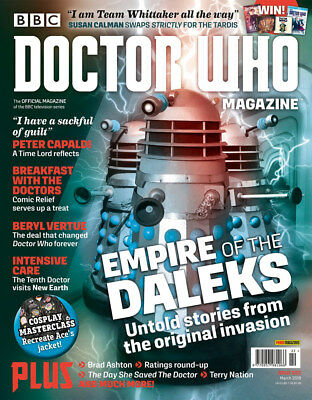Doctor Who Magazine March 2018 (Issue 522) New...fast Post