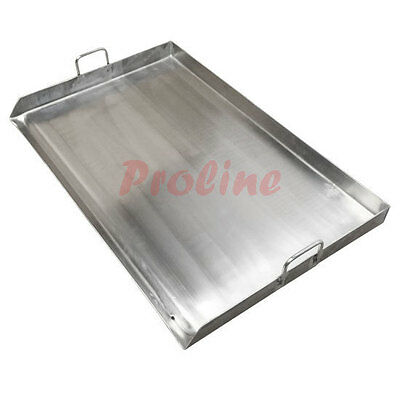 """36"""" x 22"""" Stainless Steel Comal Griddle Flat Top Grill for Triple Burner Stove"""