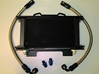 Suzuki GSXR1100 89-92 Oil Cooler Kit c/w Brackets and HEL Performance Lines