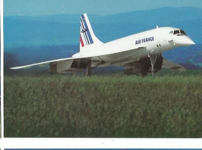 Cp Avion Concorde Air France F-Bvfa Euroairport Mai 1995