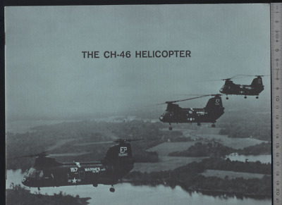 (192) Brochure hélicoptère Aircraft Helicopter Boeing Vertol The CH-46