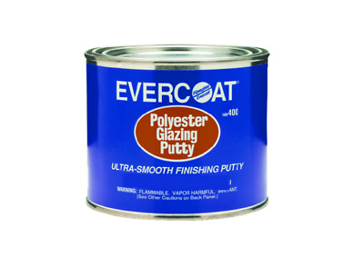 Evercoat Boat Marine Polyester Glazing Putty 20 Ounce Easy Dry No Shrinkage