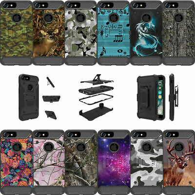 "For Apple iPhone 6 Plus | iPhone 6s Plus (5.5"") Dual Layer Stand Case - Camos"