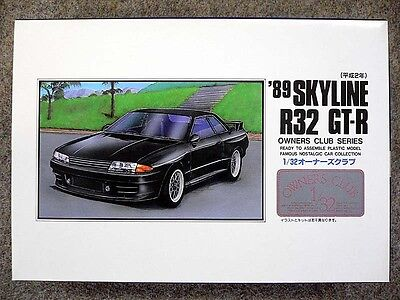Cars Toys, Hobbies 1:32 1989 Skyline R32 Gt-r Arii 31066-600 #54