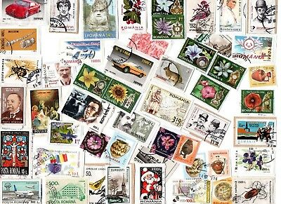 A Lovely Mix Of Kiloware Stamps From Romania