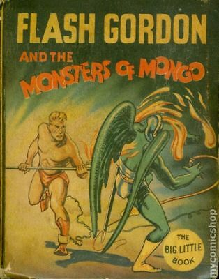 Flash Gordon and The Monsters of Mongo Big Little Book #1166 1935 VG 4.0