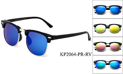 Colorful Clubmaster Polarized Kids Sunglasses Boys Girls Children Toddler UV 100