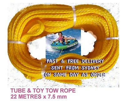 Tube and Toy Tow Rope for Ski Tube Ski Biscuit