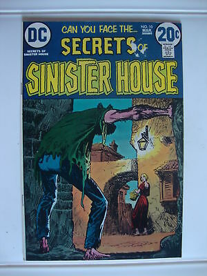 Secret Of Sinister House #10 VG Castle Curse