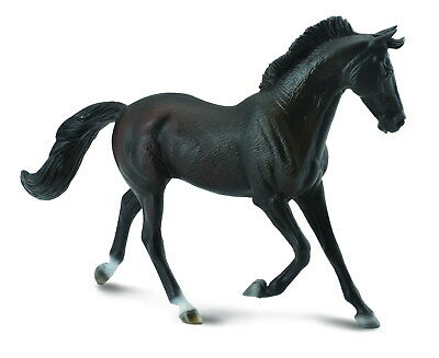 Breyer CollectA 88478 Thoroughbred mare horse black well made miniatures<><