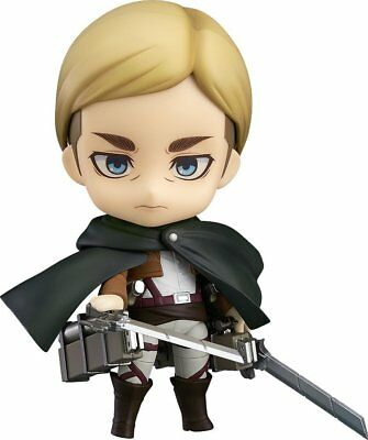 New Good smile company Nendoroid Attack on Titan Erwin Smith ABS&PVC From Japan