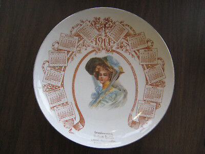 Sisters, Oregon 1911 General Merchandise Robert Smith Antique Plate
