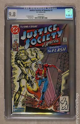 Justice Society of America (1st Series) #1 1991 CGC 9.8 1360644027