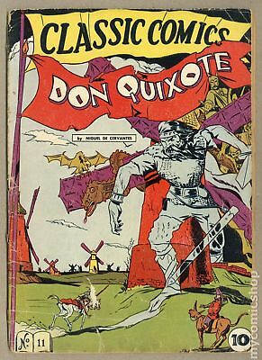 Classics Illustrated 011 Don Quixote #1 1943 GD- 1.8