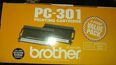 Brother PC-301 Printing Cartridge 2 pack   New