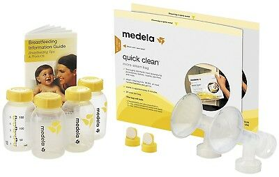 Medela Breast Pump Accessory Set For Pumping Storage Feeding & Cleaning 67179