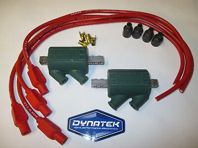 Kawasaki ZZR600 3 ohm Dyna Performance Ignition Coils /& Taylor Leads red