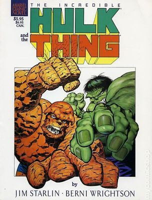 Incredible Hulk and the Thing The Big Change GN (Marvel) #1-1ST 1987 VF