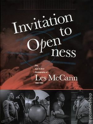 Invitation to Openness HC The Jazz and Soul Photography of Les McCann #1 2015 NM
