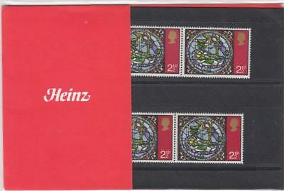 Gb 1971 Heinz Christmas Private Presentation Pack Sg 894 Mint Stamps Rare . #03