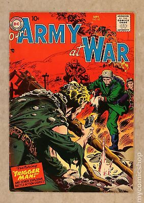 Our Army at War #62 1957 VG+ 4.5