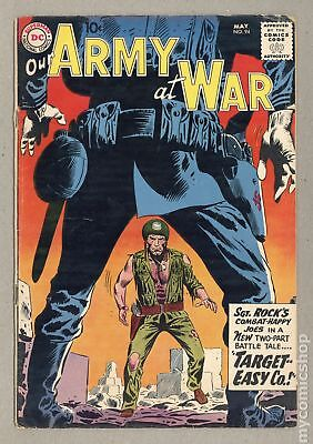Our Army at War #94 1960 VG- 3.5