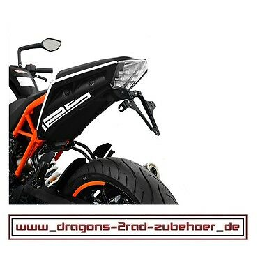 Kennzeichenhalter verstellbar KTM 125 / 390 DUKE  2017- license plate holder