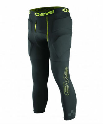 EVS Tug Impact Mens 3/4 Length Padded Pants Hi-Vis