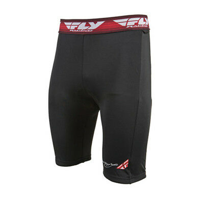Fly Racing Chamois Short Underwear Black