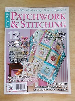 Patchwork & Stitching Vol 13 #1~Quilts~Doll~Bags~Bunny~Wall-Hangings~Runner...