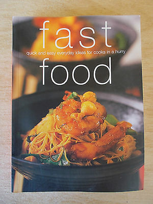 Fast Food~Chunky Cookbook~Pot Pan Wok Oven Grill Sweet~Recipes~400pp P/B~2006
