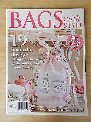 Bags With Style #1~19 Projects~Bead~Embroidery~Patchwork~Applique~2011
