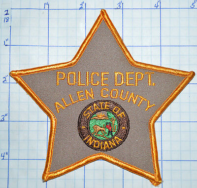 Indiana, Allen County Sheriff Police Dept Patch