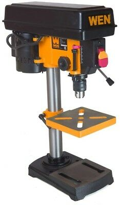 WEN 8 in 5-Speed Drill Press Bench Top Adjustable Woodworking Metal Power Tools
