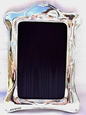 Large Lovely Finest 999 Quality Hallmarked Silver London & Britannia Photo Frame